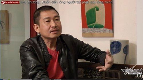 Hoạ sĩ Lê Thiết Cương chia sẻ với Góc nhìn thẳng về việc xoá bỏ loa phường