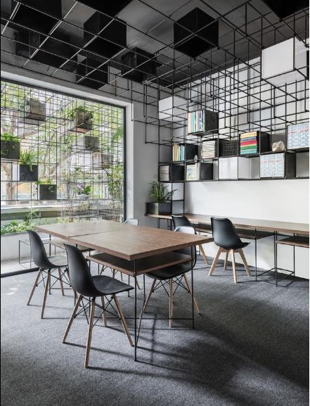 Thành quả là công sức của nhóm kiến trúc sư trẻ người Việt và người Ý trong suốt một thời gian dài.