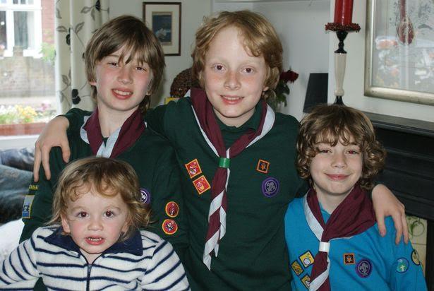 Bốn đứa trẻ mắc chứng tự kỷ nay đã dần hoà nhập với cuộc sống bình thường.