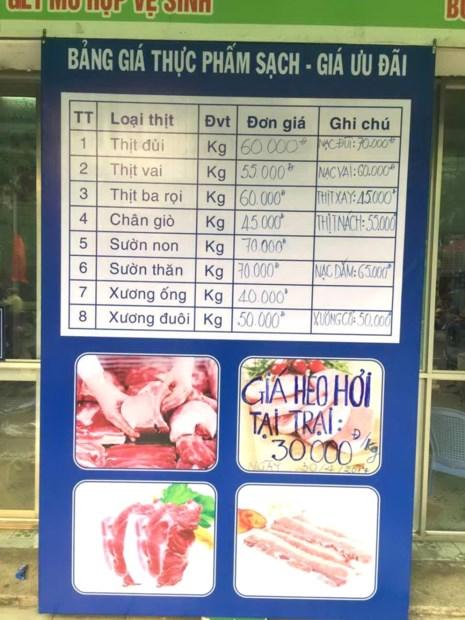 Đồng Nai sẽ mở thêm nhiều điểm bán thịt giải cứu người nuôi heo