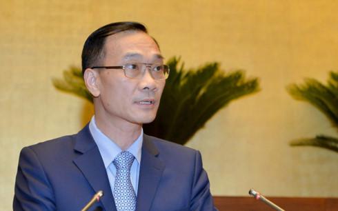 Ông Vũ Hồng Thanh - Chủ nhiệm Uỷ ban Kinh tế của Quốc hội