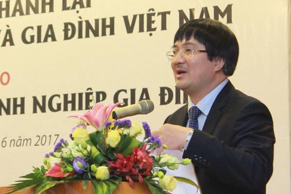 Ông Phạm Đình Đoàn, Chủ tịch Hội đồng Doanh nhân và Gia đình Việt Nam.