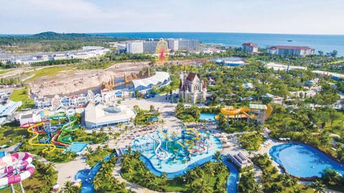 Một điểm vui chơi trên đảo Phú Quốc Ảnh: Giang Sơn