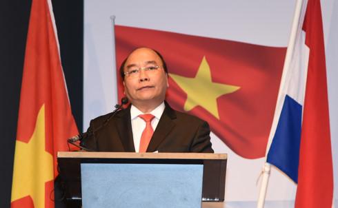 Thủ tướng phát biểu tại Diễn đàn doanh nghiệp Việt Nam-Hà Lan