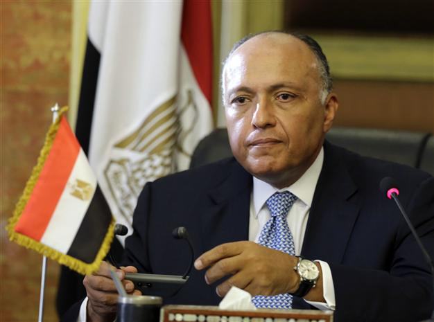 Ngoại trưởng Ai Cập Sameh Shoukry chỉ trích phản hồi tiêu cực từ phía Qatar