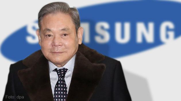 Lee Kun Hee, con trai người sáng lập, nhà lãnh đạo thế hệ thứ 2 của Samsung