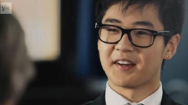 Kim Han Sol xuất hiện trong cuộc phỏng vấn trên truyền hình Phần Lan.