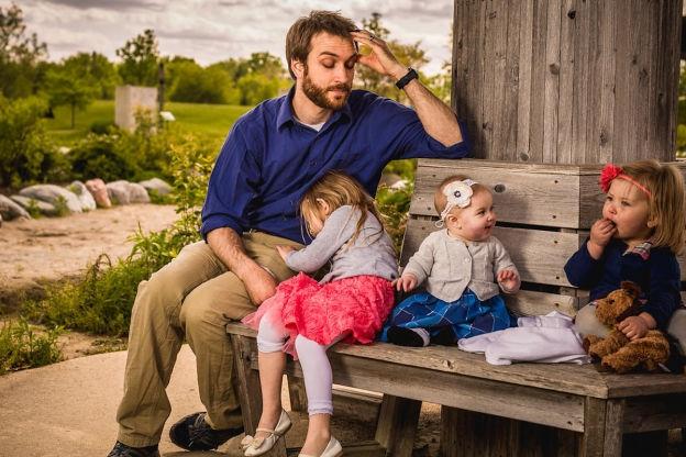 Với James Breakwell, làm bố của 4 cô công chúa là trải nghiệm tuyệt vời.