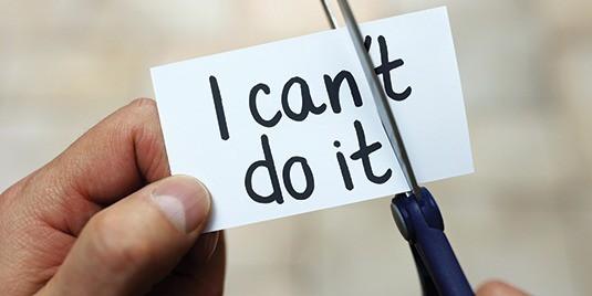 Cảm giác vô vọng không lối thoát không hề bị coi là dấu hiệu của sự thất bại