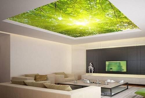 Với hiệu ứng của đèn Led tạo cho người xem có cảm giác như căn phòng rộng hơn và không còn bị ngăn cách không gian với các bức tường bê tông.
