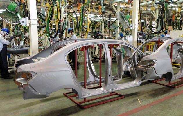 Sản xuất ô tô tại Thái Lan