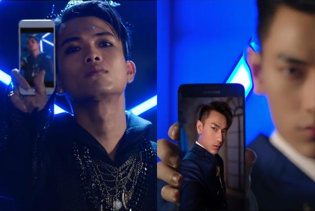 Galaxy J7 Prime (phải) cho hình ảnh selfie sáng và sắc nét hơn