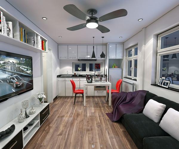 Với diện tích chỉ vẻn ven 39m2 nhưng ngôi nhà không thiếu bất kỳ không gian chức năng nào: từ phòng khách, bếp, phòng ngủ, khu vực ăn uống cho đến nhà tắm.
