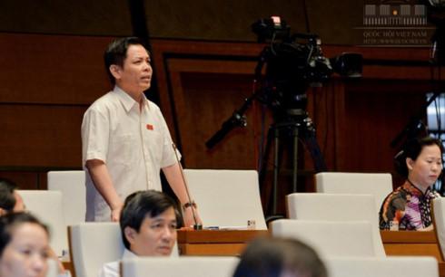 Đại biểu Quốc hội Nguyễn Văn Thể.