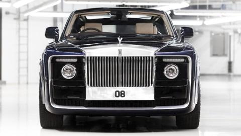Xe lấy cảm hứng từ xe Rolls-Royce cổ và du thuyền hạng sang.