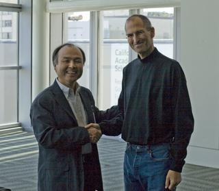 Jobs và Son, hai đồng môn của người thày Sasaki.