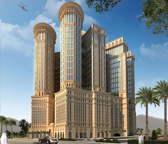 Dự án có chi phí đầu tư 3,5 tỷ USD và được mệnh danh là dự án khách sạn lớn nhất thế giới.