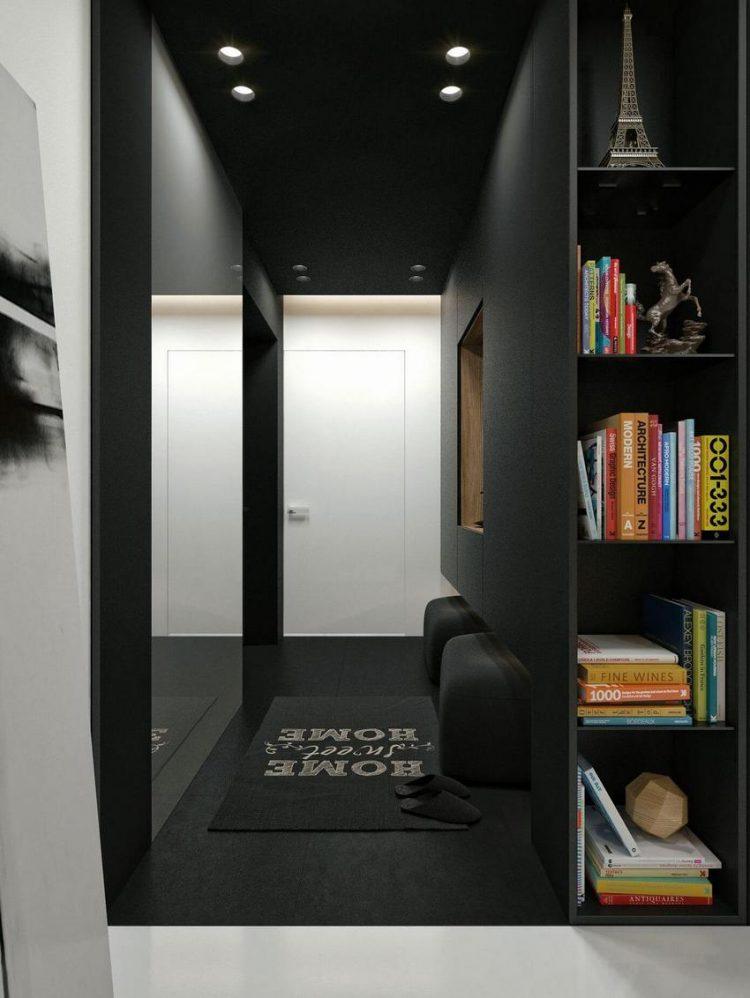 Sự hiện đại, sang trọng được thể hiện qua từng góc nhỏ của ngôi nhà khiến người xem phải trầm trồ thán phục vì sự kết hợp khéo léo này.