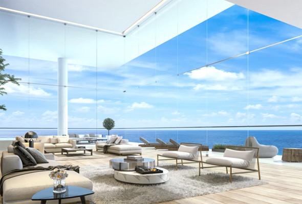 Căn hộ này có nội thất cao cấp, sang trong được thiết kế riêng bởi công ty Eipheron có trụ sở ở London.