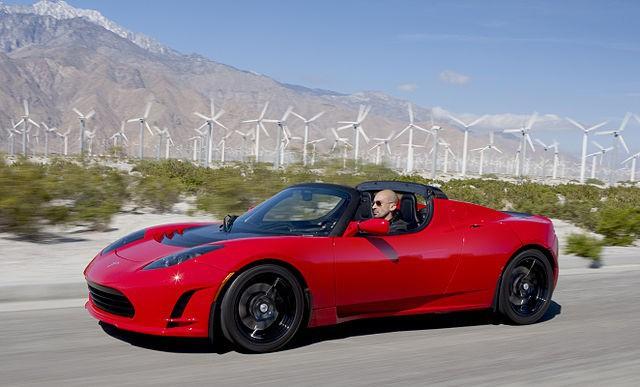 Roadster phiên bản đầu tiên.