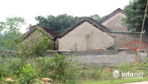 Công trình khác được gia đình ông Phượng tiếp tục xây trên đất hành lang ATGT đường mòn Hồ Chí Minh.