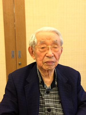 Rocket Sasaki tại một trung tâm chăm sóc người lớn tuổi, tháng 11 năm 2016.