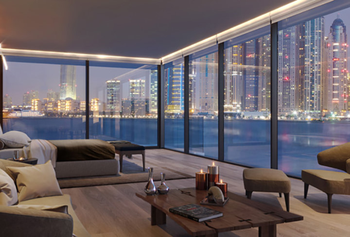 Nội thất một trong những phòng ngủ của căn hộ đắt nhất Dubai.