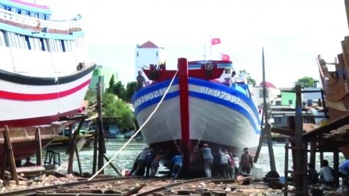 Cho vay theo Nghị định 67 tạo điều kiện cho ngư dân có tàu hiện đại đánh bắt xa bờ