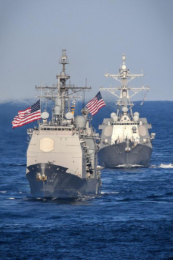 Ảnh: Hải quân Mỹ