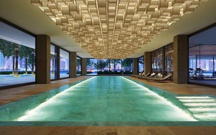 Căn hộ penthouse đắt nhất Dubai, nó đi kèm với một hồ bơi trên tầng thượng dài 20 mét. Hồ bơi này sẽ trở thành một trong những hồ bơi cao nhất và riêng tư nhất ở Dubai sau khi hoàn thành.