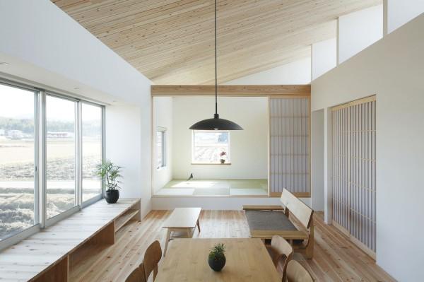 Quy tắc tối giản luôn là tiêu chí ưu tiên trong kiến trúc Nhật Bản. Ngôi nhà này cũng không ngoại lệ. Mọi thứ đều được sắp xếp gọn gàng, ngăn nắp.