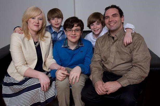 Bức ảnh chụp cả gia đình Jacob.