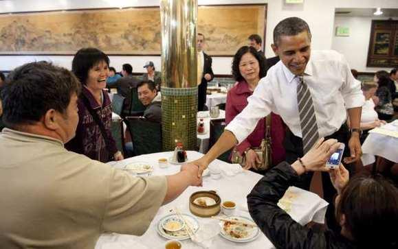 Tổng thống Obama cũng từng trải nghiệm món ăn này trong nhà hàng Trung Quốc.