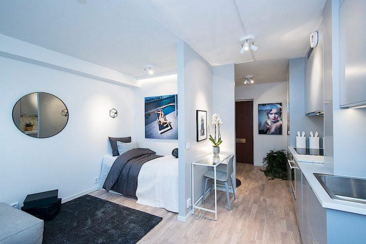 Do hạn chế về diện tích nên tất cả các không gian trong nhà được thiết kế mở tạo cái nhìn thông thoáng cho ngôi nhà.