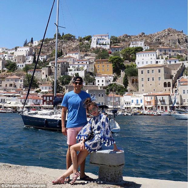 Khung cảnh thơ mộng của đảo Hydra, Hi Lạp.