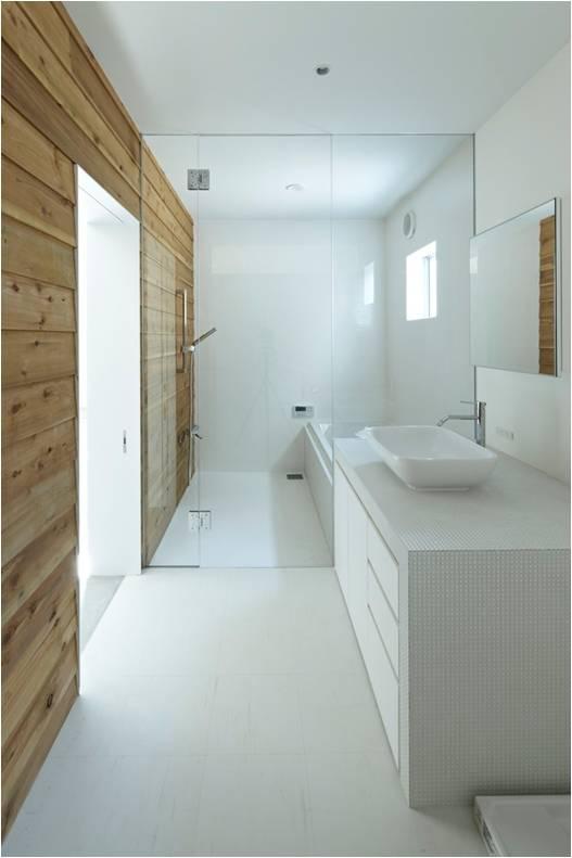 Nhà vệ sinh thoáng rộng và sạch sẽ.