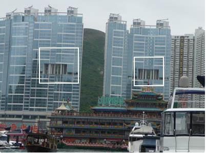 """Và còn được xem là nét """"độc, lạ"""" trong kiến trúc Hồng Kông."""