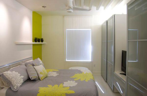 Giữ cho phòng ngủ nhỏ luôn gọn gàng, ngăn nắp là bí quyết để có một không gian nghỉ ngơi thoải mái.