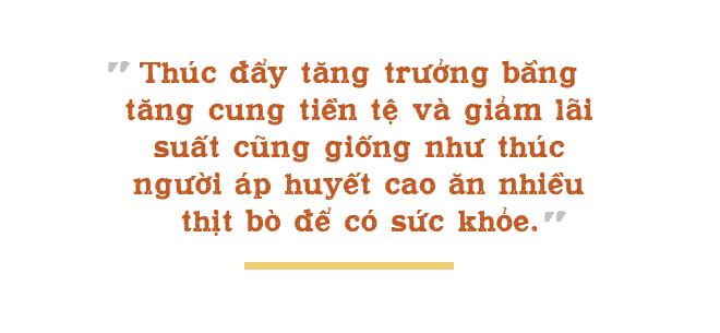 TS Vũ Minh Khương: Đẩy tăng trưởng bằng tăng cung tiền, giảm lãi suất giống như thúc người áp huyết cao ăn nhiều thịt bò - Ảnh 7.