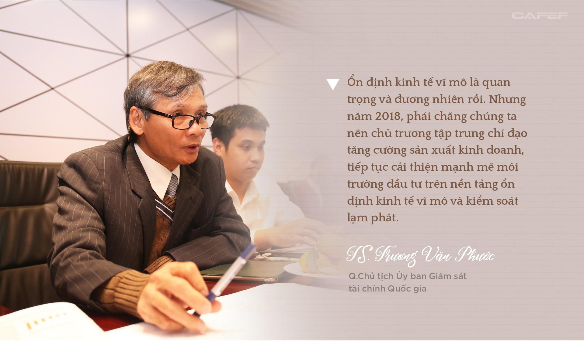 TS. Trương Văn Phước dự báo gì về tăng trưởng, tỷ giá năm 2018 và bitcoin? - Ảnh 7.