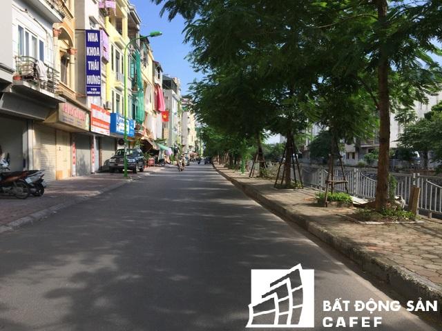Nhờ tuyến đường được cải tạo mở rộng mà giá nhà mặt đường tại đây đã tăng lên cả trăm triệu/m2.