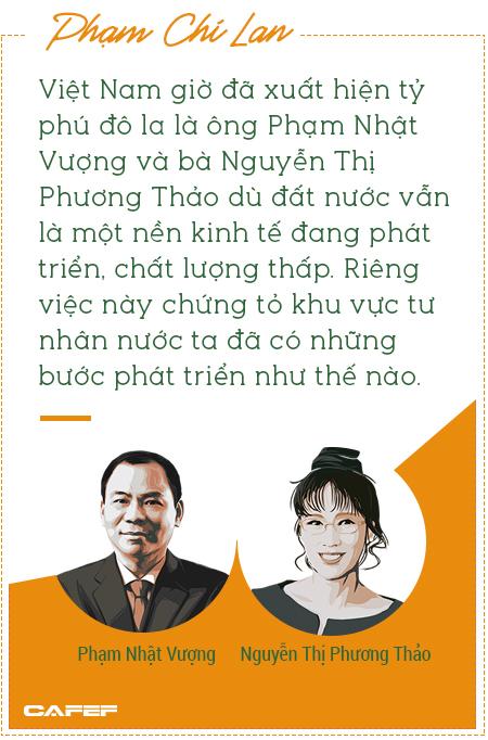 Doanh nghiệp tư nhân Việt Nam: Từ số 0 đến những tỷ phú đô la qua ký ức của chuyên gia Phạm Chi Lan - Ảnh 4.