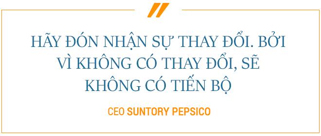 CEO Suntory PepsiCo - 23 năm nuôi dưỡng niềm tin của người tiêu dùng - Ảnh 2.