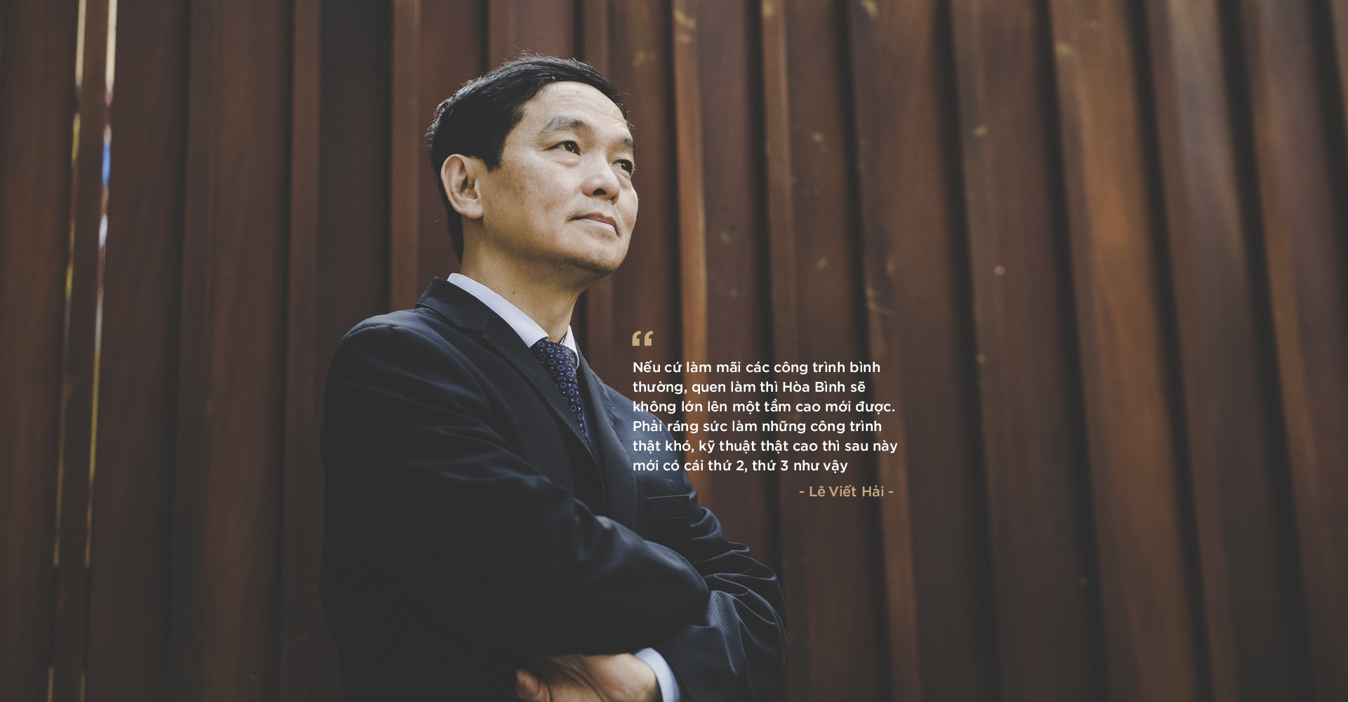 Chủ tịch HĐQT Hòa Bình (HBC): Khi địa ốc đã qua thời bùng nổ mới tính chuyện đi nước ngoài thì đã muộn rồi - Ảnh 6.