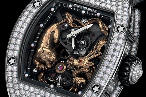 Mẫu đồng hồ Ngọa Hổ Tàng Long cũng ra mắt ngay sau sự thành công của RM 051 Phoenix.