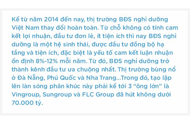 """3 """"ông lớn"""" địa ốc hút không dưới 70.000 tỷ, tạo lập làn sóng Bất động sản nghỉ dưỡng Việt Nam - Ảnh 1."""
