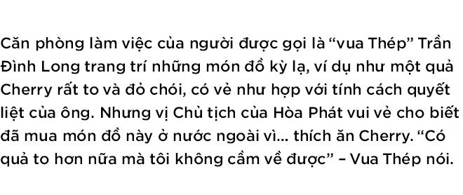 """Chủ tịch Hòa Phát Trần Đình Long: """"Mình thích thì mình làm thôi"""" - Ảnh 1."""