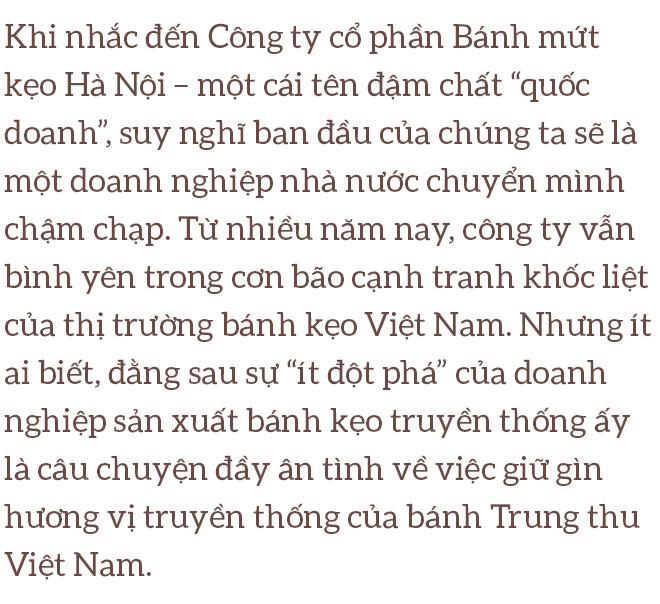 Bánh mứt kẹo Hà Nội và sứ mệnh gìn giữ hương vị bánh trung thu truyền thống - Ảnh 1.