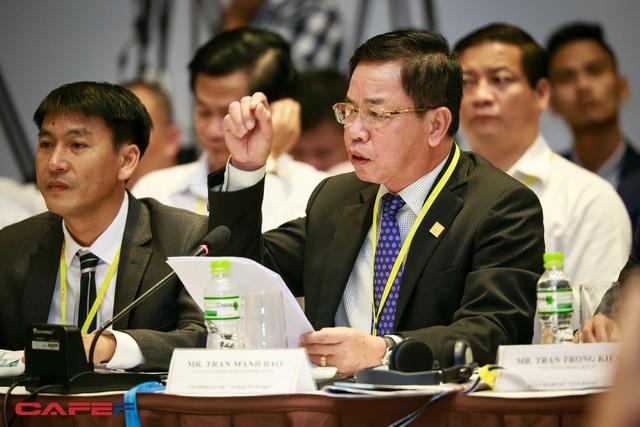 Ông Trần Mạnh Báo, Chủ tịch HĐQT Công ty Cổ phần Giống Thái Bình (Ảnh: Thành Đạt)