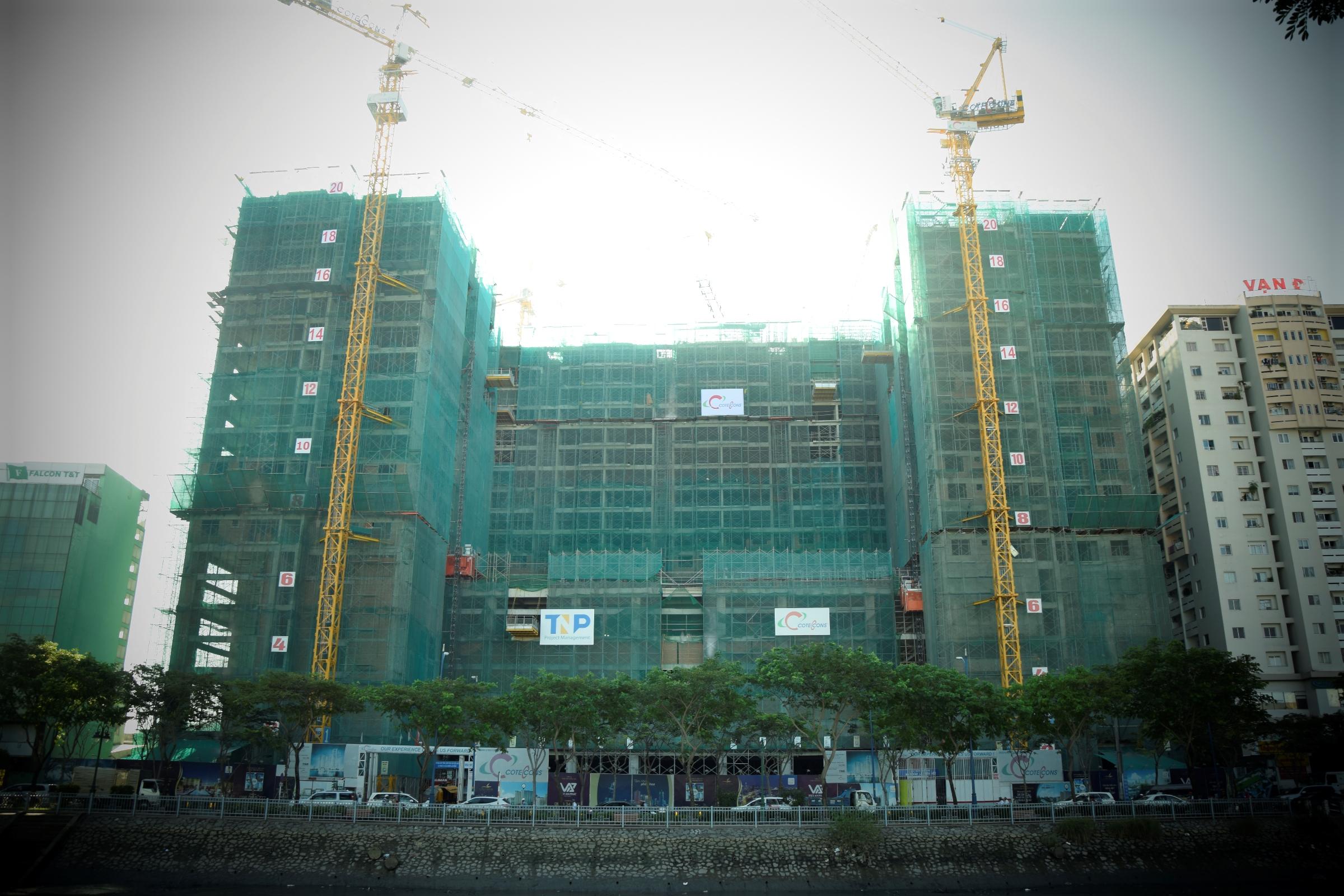Dự án The Gold View - Khu phức hợp quy mô nhất tại Bến Vân Đồn.